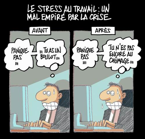 Solutions sante net stress professionnel les for Stress travail